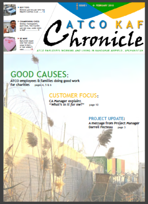 ATCO KAF Chronicle - Issue 01 - 2010 February