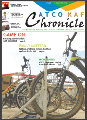 ATCO KAF Chronicle - Issue 02 - 2010 May-June