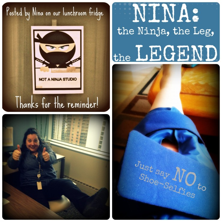 Nina: the Ninja, the Leg, the LEGEND